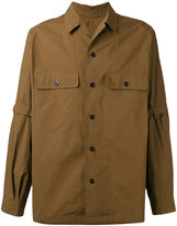Lemaire detachable sleeve shirt - men - cotton - 48