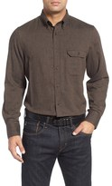 Nordstrom Men's Regular Fit Herringbone Sport Shirt