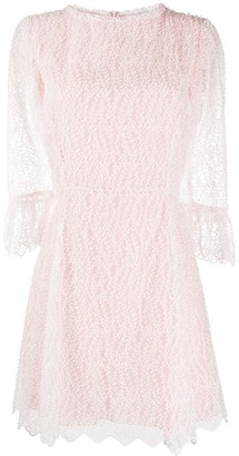 Blumarine Embroidered Panel Dress