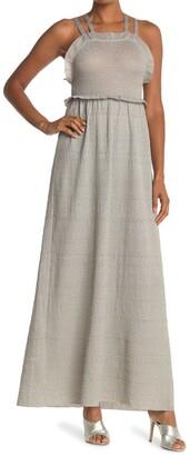 M Missoni Ruffle Strappy Maxi Dress