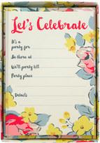 Cath Kidston Sketched Rose Let's Celebrate Cards Set