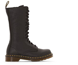 Dr. Martens 1B99 Leather Lace-Up Calf Boots