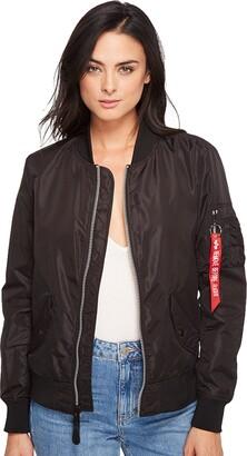 Alpha Industries Women's Scout Lightweight Nylon Bomber Jacket