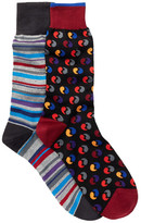 Bugatchi Dress Socks - Pack of 2