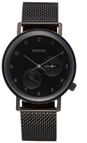 Komono Walther Chronograph Mesh Strap Watch, 40Mm