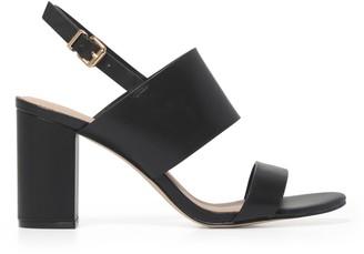 Forever New Molly Mid-Block Heels - Black - 36