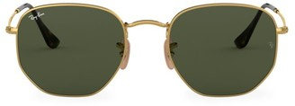 Ray-Ban RB3548 54MM Hexagonal Sunglasses