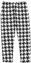 Urban Smalls Black Houndstooth Toasties - Infant Toddler & Girls