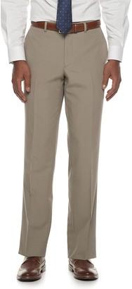 Savile Row Men's Modern-Fit Stretch Dress Pants