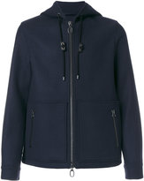 Lanvin zipped hooded jacket