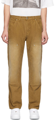 Billy Tan Construction Panelled Trousers