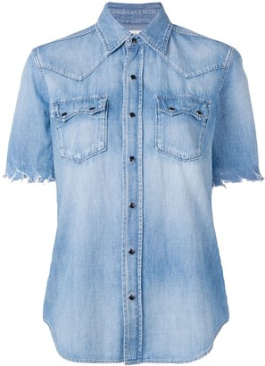 Saint Laurent basic denim shirt