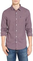 Original Penguin Men's Extra Slim Fit Check Woven Shirt