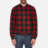 Penfield Glendale Buffalo Plaid Jacket Red
