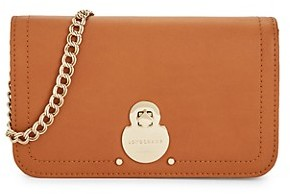 Longchamp Leather Wallet On Chain
