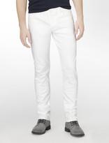 Calvin Klein Jeans White Colored Wash Skinny