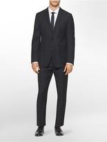 Calvin Klein X Fit Ultra Slim Fit Glen Plaid Suit