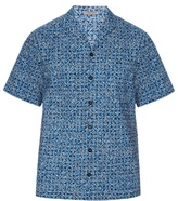 Bottega Veneta Short-sleeved Square-print Shirt