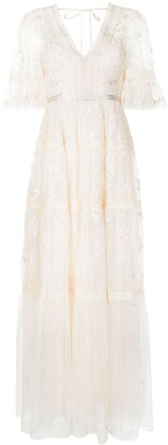 Needle & Thread Midsummer Lace embroidered gown