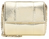 Givenchy Pandora Box Micro metallic snakeskin shoulder bag