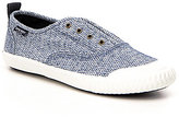 Sperry Paul Sayel Clew Diamond Print Slip-On Sneakers