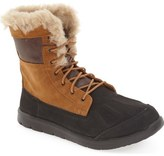 UGG Baxter Water Resistant Lace-Up Boot (Toddler, Little Kid & Big Kid)