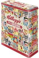 Kellogg's Collage Storage Tin / XL 8 x 19 x 26 CM Great CAN in Retro Nostalgia Design