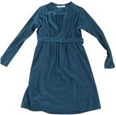 Balenciaga Green Wool Dress