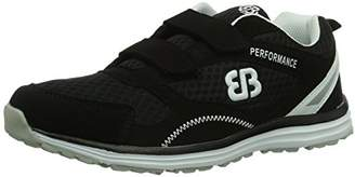 Bruetting Unisex Adults' Performance V Fitness Shoes, White (Weiß/Schwarz Weiß/Schwarz), 5 UK