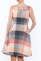 Mata Traders Oxford Plaid Dress