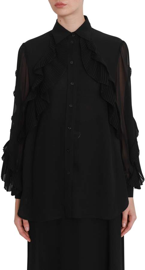 Givenchy Rouches Shirt