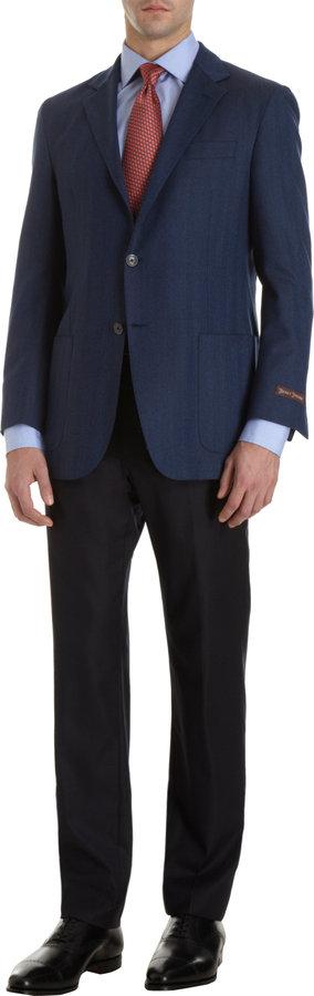 Hickey Freeman Solid Sportcoat