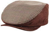 Etro Wool Flat Cap with Suede