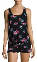 Honeydew Intimates Floral American Tank & Shorts Set