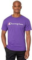 Champion Classic Jersey Graphic Tee (Purple) Men's T Shirt