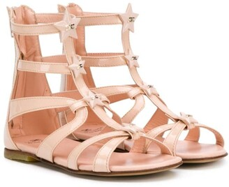 Elisabetta Franchi La Mia Bambina Gladiator Sandals