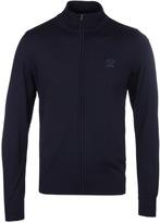 Paul & Shark Navy Zip Through Sweater