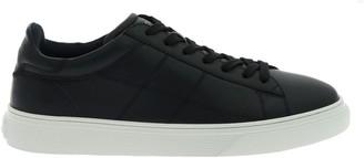 Hogan H365 Low-Cut Stitching Zig-Zag Sneakers