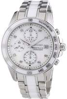 Seiko Men's Sportura SNDX95 Mother-Of-Pearl Stainless-Steel Quartz Watch