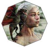 2buymore's Custom Rain Foldable Travel Umbrella DIY Umbrella Hot TV Game of Thrones