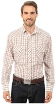 Roper 9737 Brown & Tan Grid w/ Lurex