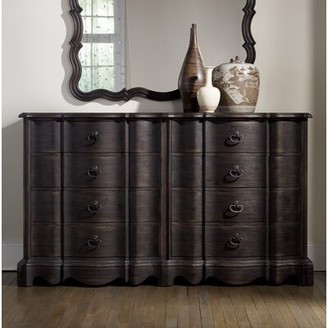 Hooker Furniture Corsica Camden 8 Drawer Double Dresser