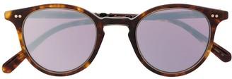 Garrett Leight Mirrored Lense Sunglasses