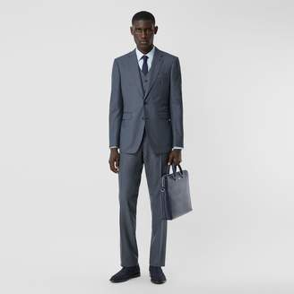 Burberry Classic Fit Wool Mohair Blend Three-piece Suit