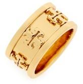 Tory Burch Women's Raised Logo Ring