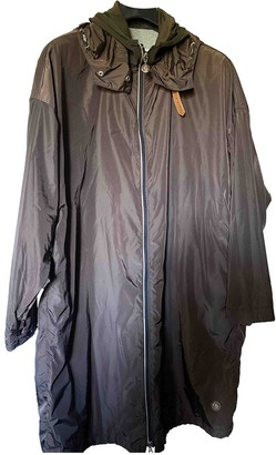 Moncler Brown Trench Coat for Women