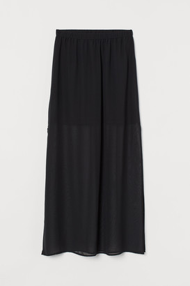 H&M Long Chiffon Skirt