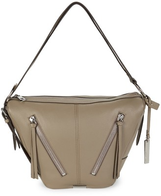 Vince Camuto Textured Leather Shoulder Bag