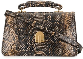 Marni Snakeskin-Effect Shoulder Bag