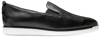 Cole Haan Grand Ambition Slip-On Leather Sneakers